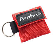 AMBU LifeKey in rood canvas etui