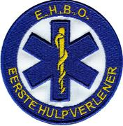 Logo Borduring Star of Life EHBO