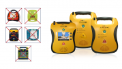 Defibtech Lifeline AED      +     INRUIL