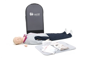 Laerdal Resusci Anne First Aid Full Body in trolley