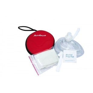 AMBU ResCue Mask in Softcase met Co2 -Actie-