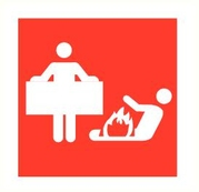 Pictogram Blusdeken