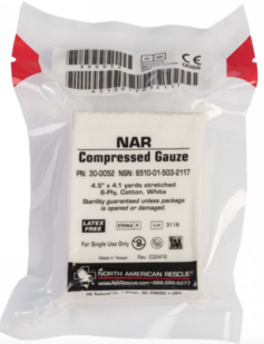 NAR Compressed Gauze / Geperst Gaas