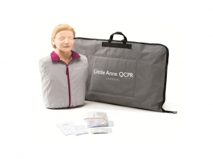 Laerdal Little Anne QCPR  Blank of Donker