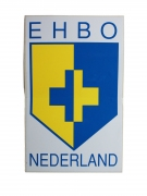 EHBO Nederland sticker afm. 75x100 mm.
